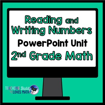 Reading and Writing Numbers Through 1,000 2nd Grade Math Unit Common Core