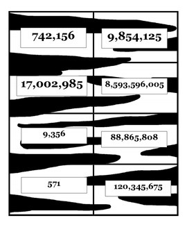 Reading and Writing Numbers to the 1,000,000,000