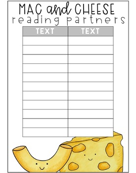 Partners For Any Subject {Editable}
