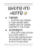 Reading and Writing Poster #1