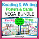 Reading and Writing Posters & Cards MEGA BUNDLE