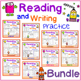 Reading and Writing Practice Growing Bundle