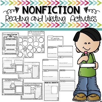 Reading and Writing Response Sheets and Activities