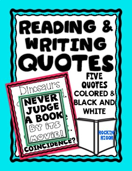 Reading and Writing Quotes
