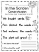 Kindergarten Reading and Writing - Comprehension - Fluency - Easter SPRING