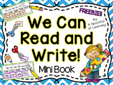 Reading and Writing Sentence Unscramble Mini Book- FREEBIE!!