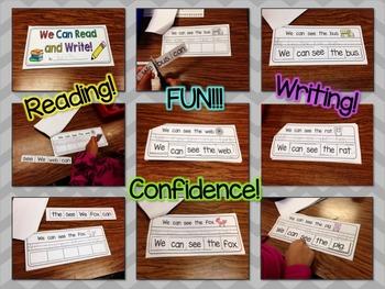 Reading and Writing Sentence Unscramble Mini Book- FREEBIE!!