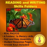 Literacy Centers Folders with PHOTOS