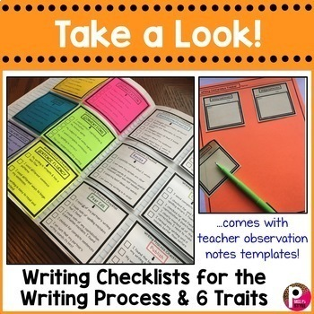 Reading and Writing Sticky Note Bundle