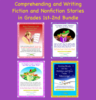 Reading and Writing Story Bundle for 1st-2nd Grade