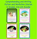 Reading and Writing Story Bundle for 3rd-4th Grade