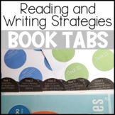 Reading and Writing Strategies Book Tabs