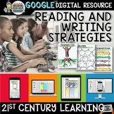 READING AND WRITING PAPERLESS ACTIVITIES DIGITAL NOTEBOOK FOR GOOGLE DRIVE