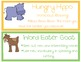 Reading and Writing Strategy Posters Beanie Baby Inspired