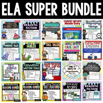Reading and Writing Super Bundle