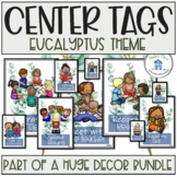 Reading and Writing Tags Eucalyptus Theme