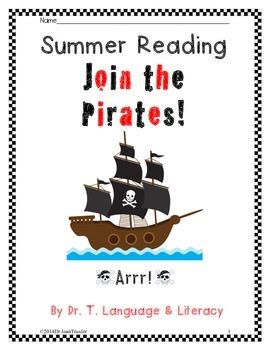 Summer Reading: Join The Pirates (Kindergarten)