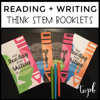 Reading and Writing Think Stems