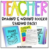 Reading and Writing Toolkit Starter Pack for Teachers!