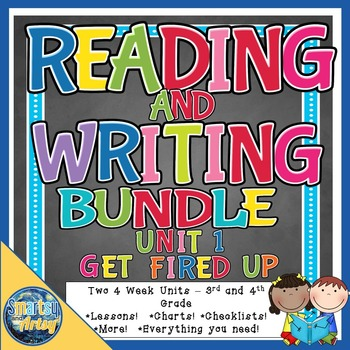 Reading and Writing Unit 1 BUNDLE Get Fired Up Lessons Cha