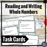 Reading and Writing Whole Numbers Task Cards 4.NBT.2