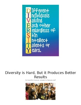 Reading and Writing With Diversity