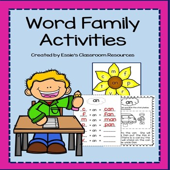 Reading and Writing With Word Families
