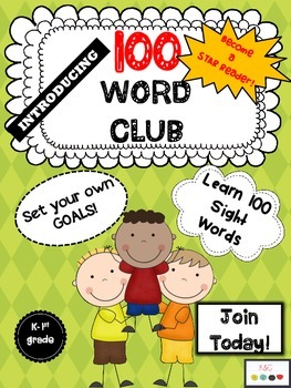 Reading and Writing Word Club {K-1st}