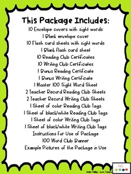Reading and Spelling Word Club {K-1st}