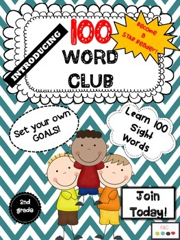 Reading and Writing Word Club (2nd Grade)