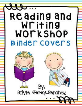 Reading and Writing Workshop Binder Covers