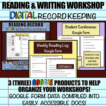 Reading and Writing Workshop: DIGITAL Record Keeping using Google Apps