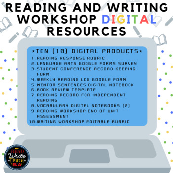Reading and Writing Workshop: DIGITAL Resources Bundle