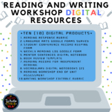 Reading and Writing Workshop: DIGITAL Resources Bundle