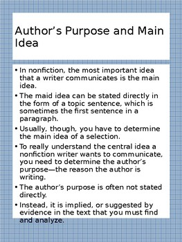 Reading and Writing Workshop Minilesson Set 1