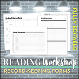 Reading and Writing Workshop: Recordkeeping Forms