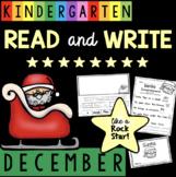 Reading and Writing in Kindergarten - December - Christmas - Sentences