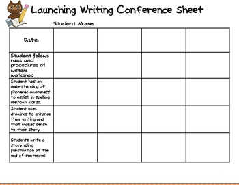 Reading and Writing workshop Calendar for first 9 weeks (Owl Theme)