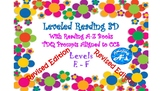 Written Response for Reading A-Z Books for levels E-F! CCS