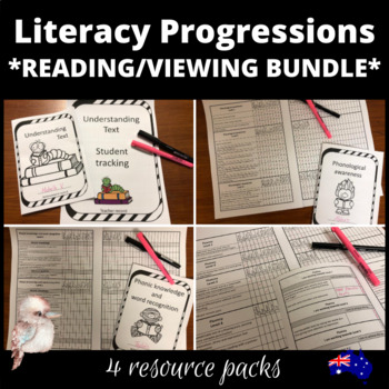 Reading and viewing Literacy progression bundle for Australian Curriculum