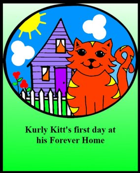 Reading and word recognition - Kurly Kitt's First Day At His Forever Home