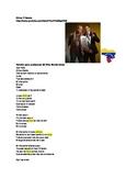 Reading and writing activity - Song -- Chino y Nacho Mi niña bonita