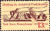 Reading and writing assignments for the Articles of Confederation