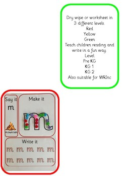 Reading and writing dry wipe