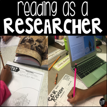 Reading as a Researcher Resources, Anchor Charts, Rubrics,