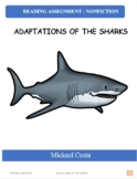 Reading assignment: Adaptations of the sharks, literacy (#1567)