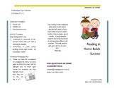 Reading at Home Builds Success - Parent Handout K-1