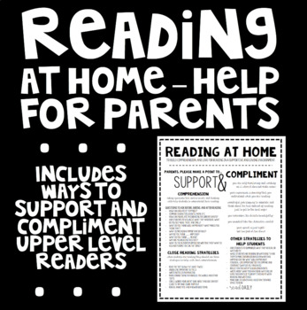 Reading at Home - Help of Parents