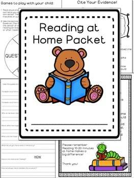 Reading at Home Packet