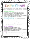 Reading at Home - Parent Information Sheet